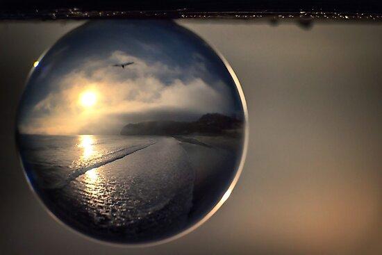 Capturing Avila Beach in a Crystal Ball  by MarniePatchett