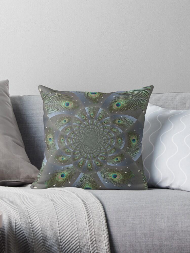 Peacock Spiral by Kapila McRae-Bell