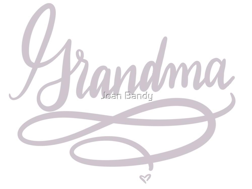 Grandma (grey) by Joan Bandy