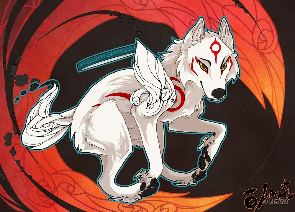Okami - Light in the Dark by Wolf250