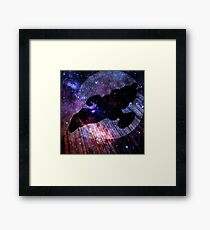 Firefly Collage  Framed Print