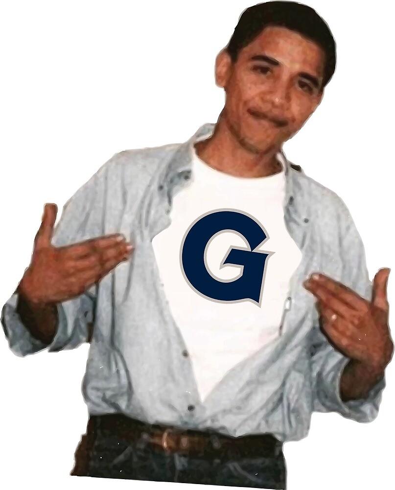 Barack Obama Georgetown University by hjg15