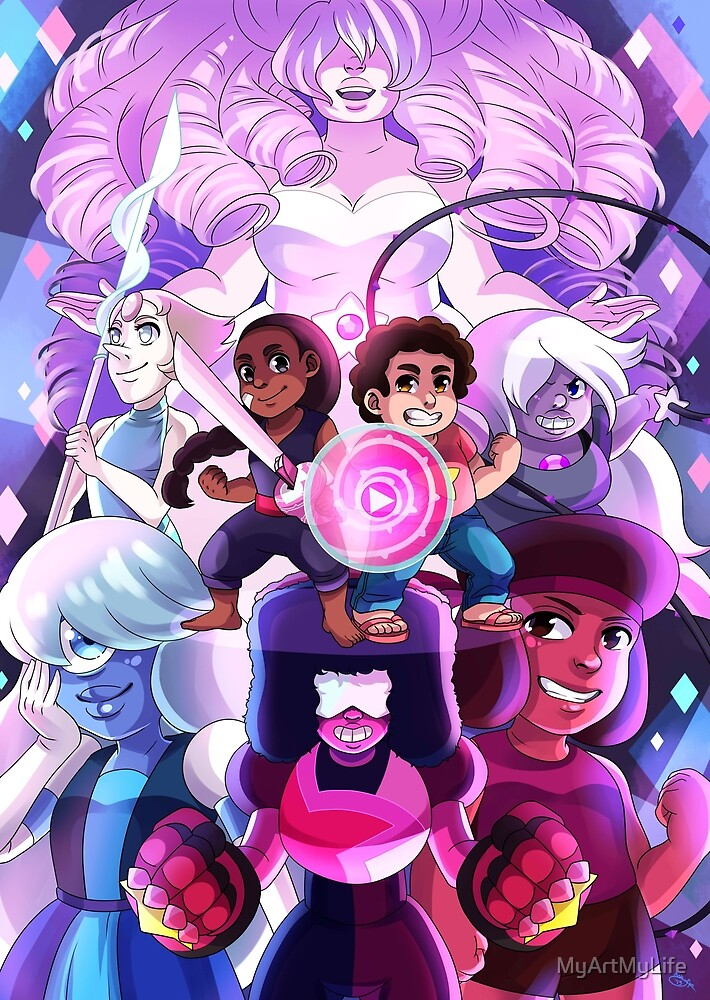 We Are the Crystal Gems! by MyArtMyLife