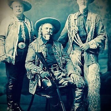 Wild West - Buffalo Bill (Pawnee Bill and Buffalo Jones) by BindysBags