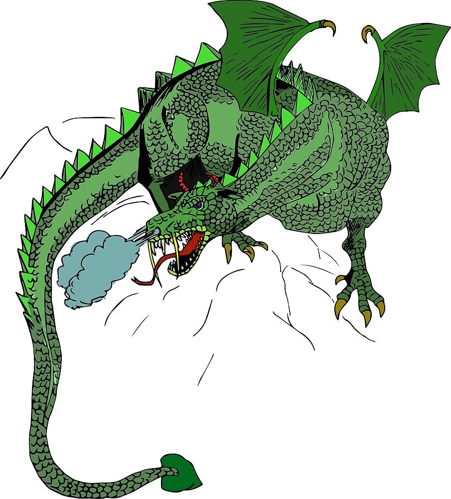 Dragon by PlaviOrao