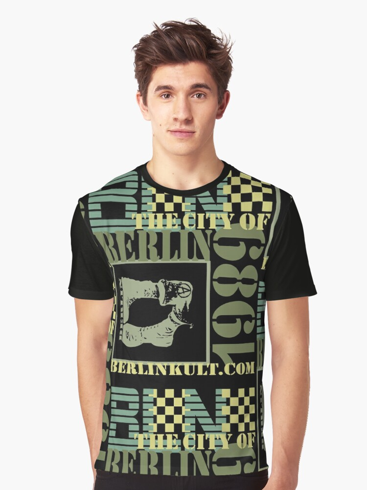 BERLIN Graphic T-Shirt Front