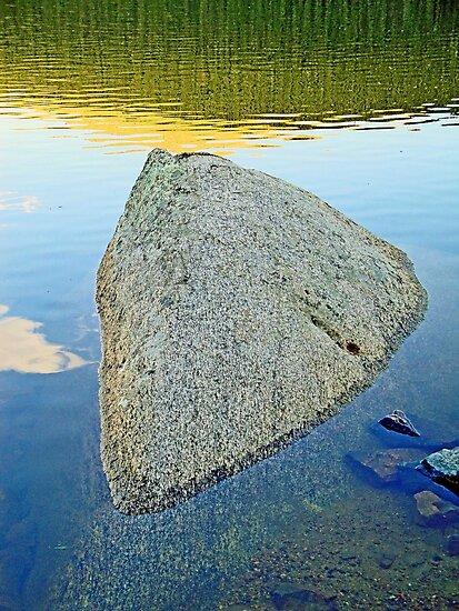 Boulder at Echo Lake by Robert Meyers-Lussier