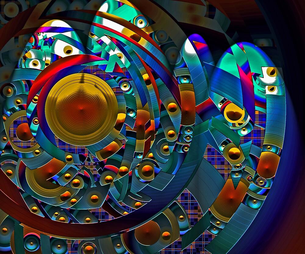 Discopolis by Lynda Lehmann