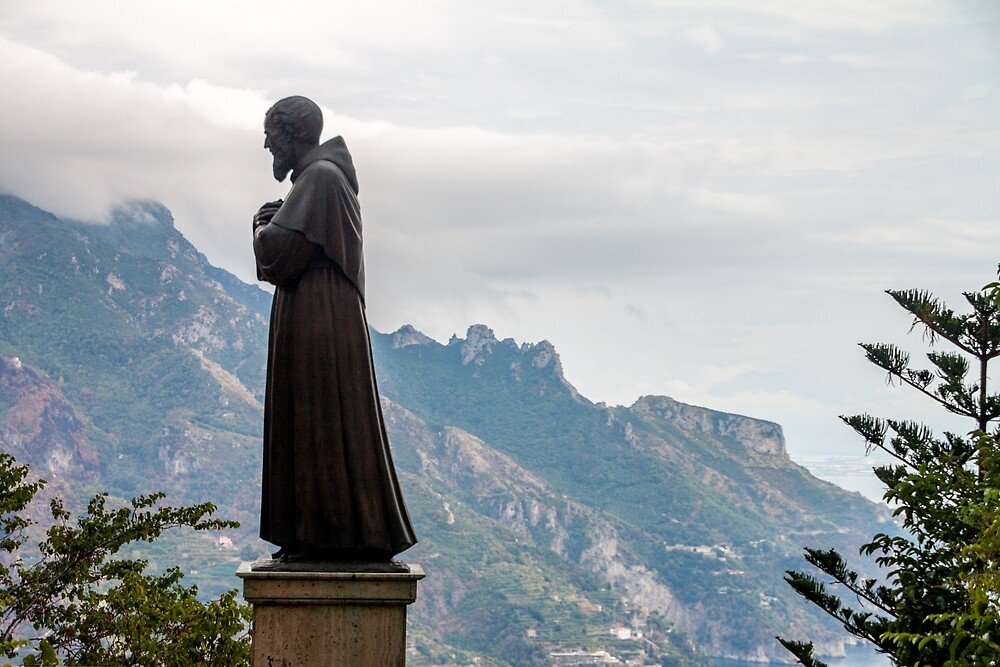Italian Religious Statue by ETBtravelphotog