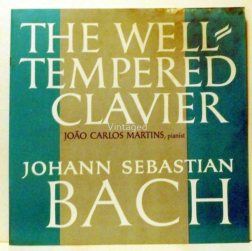 J.S. BACH, Bach, Johann Sebastian Bach, Well-Tempered Clavier  by Vintaged