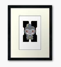 Monkey Bomb!  Framed Print