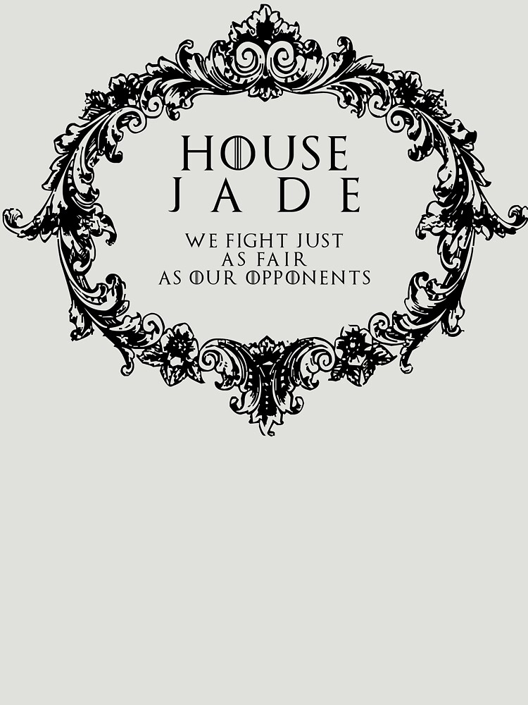 House Jade (black text) by houseorgana