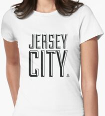 Jersey City Women's Fitted T-Shirt