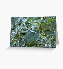 Thin Ice Greeting Card