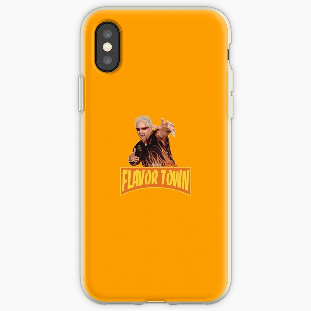 FLAVOR TOWN USA - GUY FlERl iPhone Case & Cover
