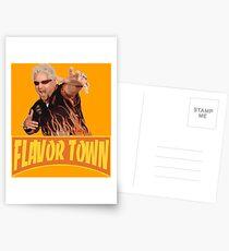FLAVOR TOWN USA - GUY FlERl Postcards