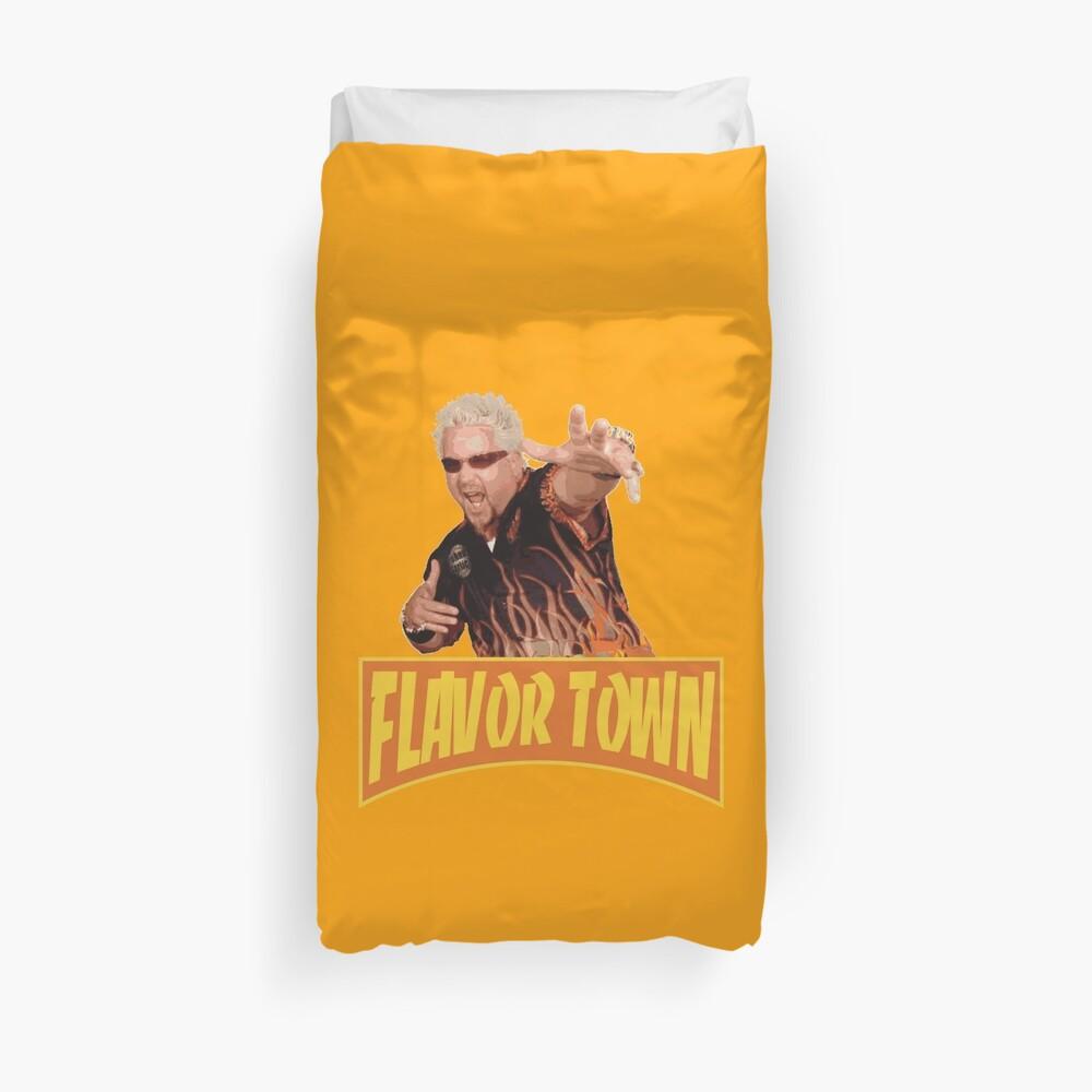 FLAVOR TOWN USA - GUY FlERl Funda nórdica