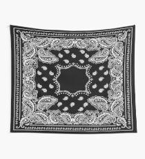 Black Bandana - 2  Wall Tapestry