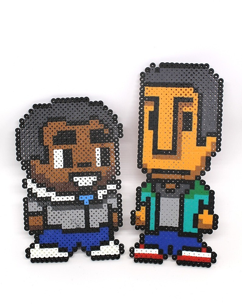 Troy and Abed  by BoswellArt