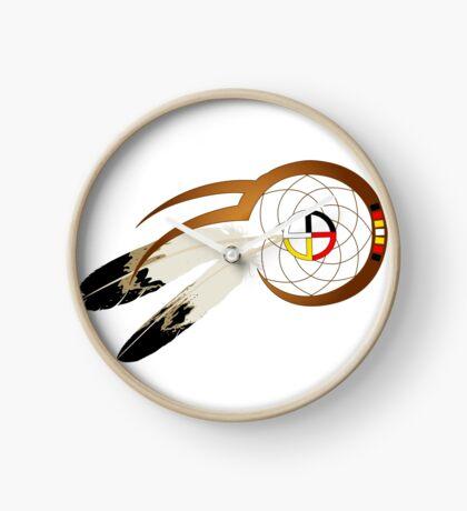 Dream catcher  Clock