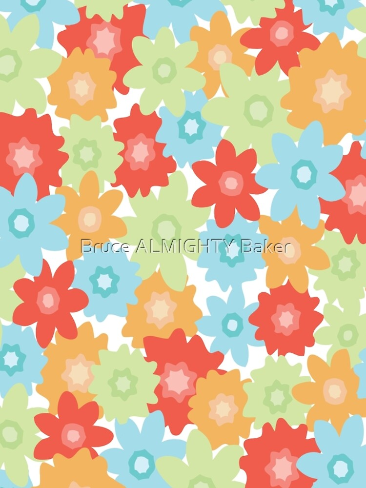 Flowers Abstract Art by BruceALMIGHTY