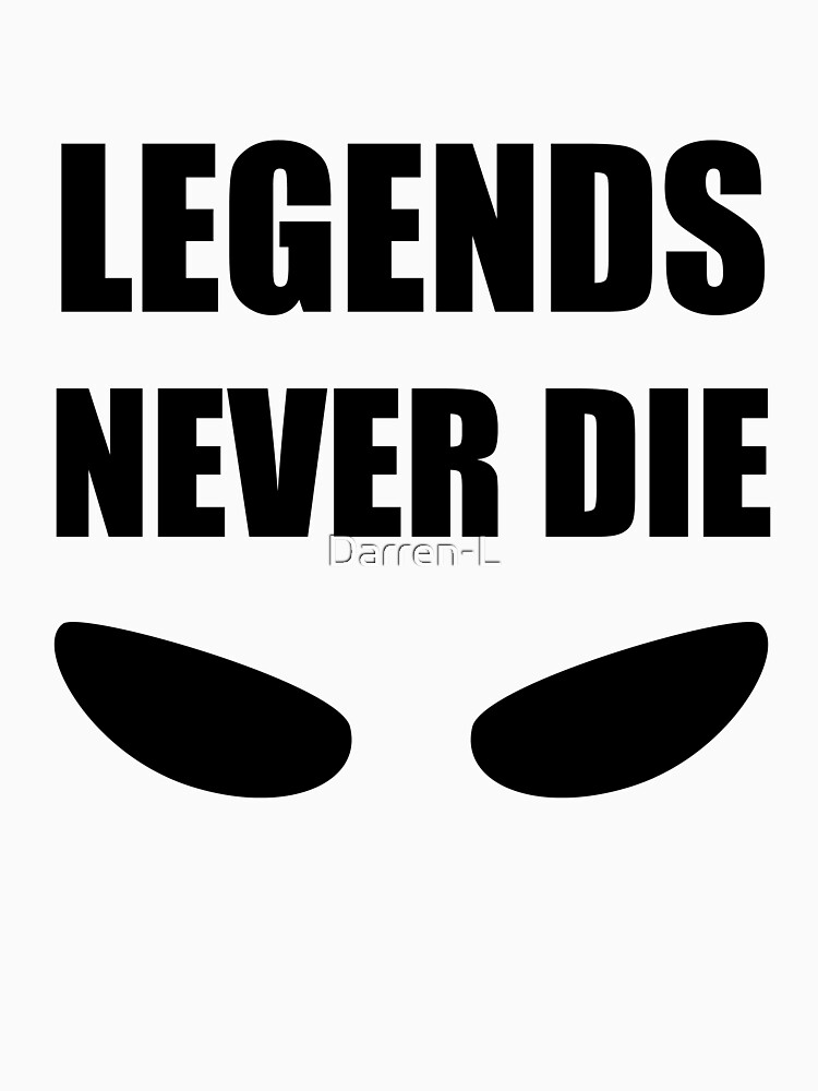 Legends never die with eye shapes by Darren-L