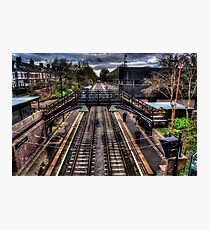 South Gosforth Metro Station Photographic Print