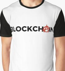 Blockchain Anarchy Graphic T-Shirt