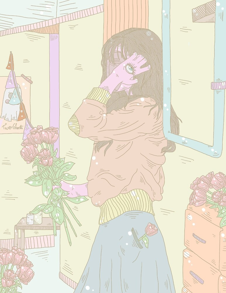 Flower Mind by ConEquis