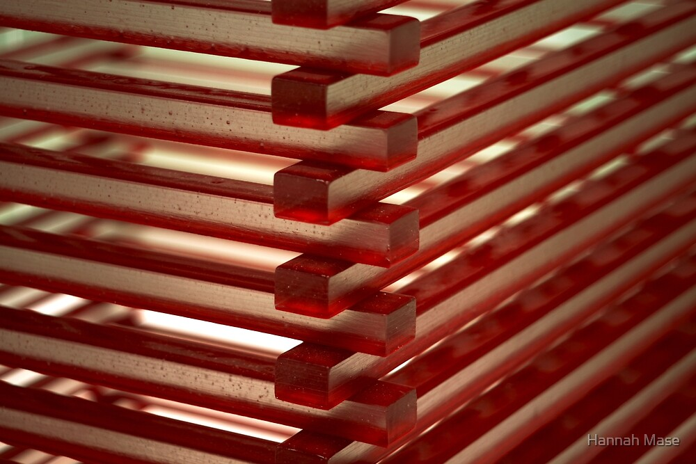 Red Glass by Hannah Mase