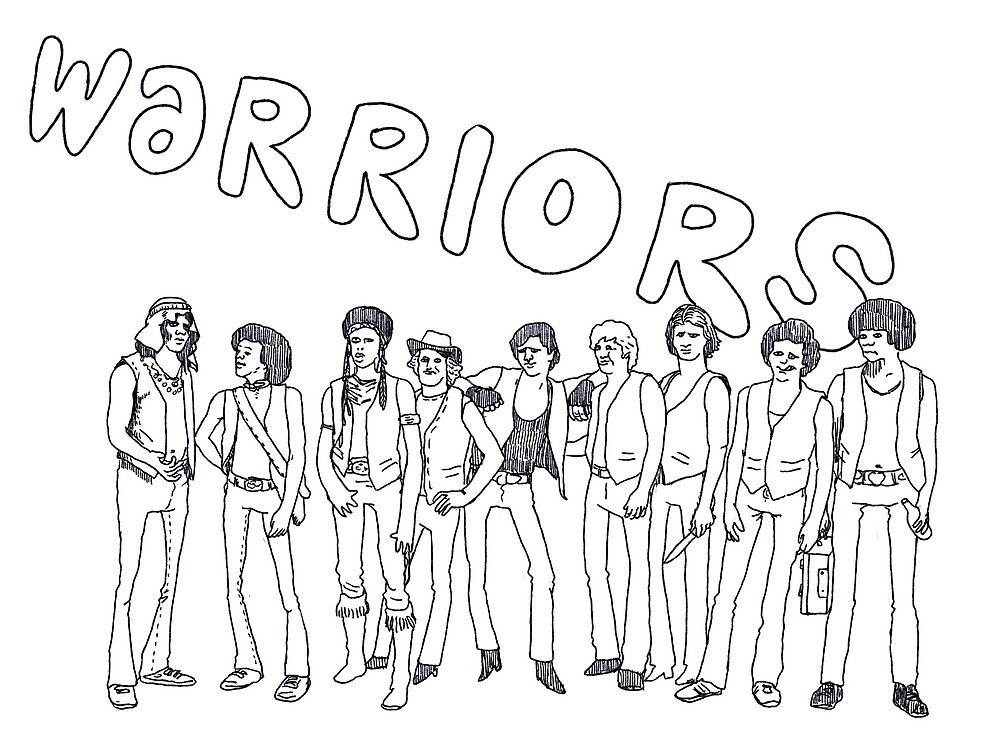 WARRIORS by THE COSMIC TRADING POST