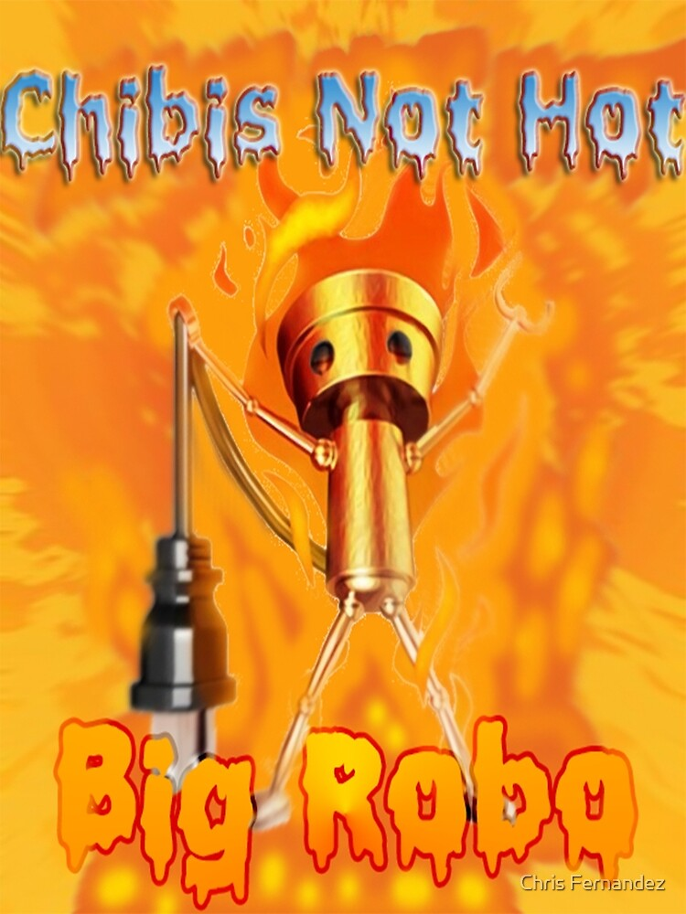 Chibi Robo on Fire by ciphercaster