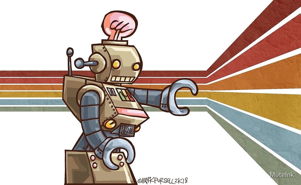 ROBOT ROBOT ROBOT by MuteInk