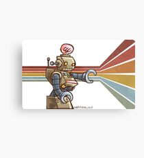 ROBOT ROBOT ROBOT Metal Print