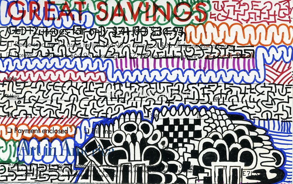 subscription card art #225 by GabrielMSanford