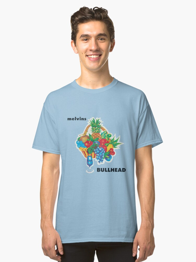 Melvins - Bullhead Classic T-Shirt Front