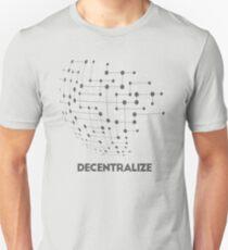 Decentralize - crypto Unisex T-Shirt