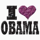 I Love Obama by brattigrl