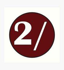 My Two Schillingsworth Logo Art Print