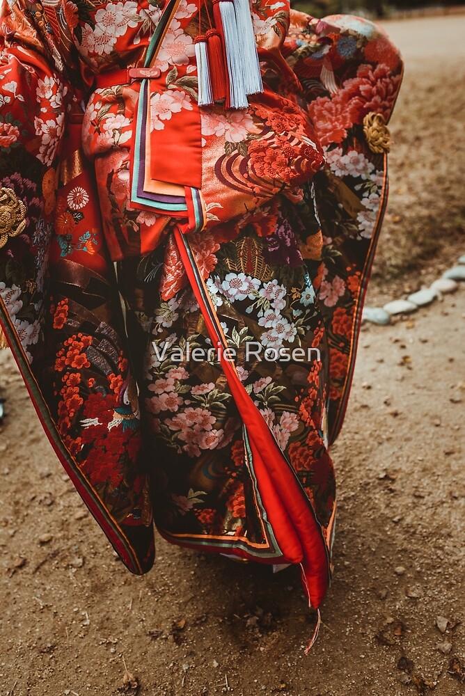 Red Kimono by Valerie Rosen