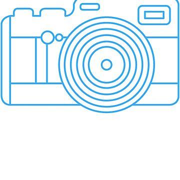Camera Tourist funny shirt zoom lens photographic paparazi negative frame flash develop by Ultraleanbody
