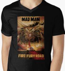 Fire & Fury Road Men's V-Neck T-Shirt