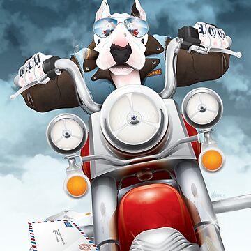 Bad Dog by KimberArt