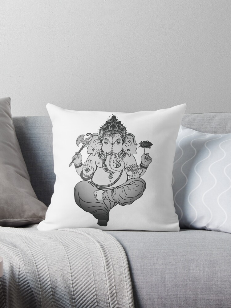 Ganesh Elephant Hindu God of Beginnings by PeppermintClove
