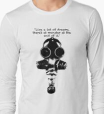 Camiseta de manga larga True Detective Gas Mask