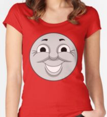 James (cheeky face) Women's Fitted Scoop T-Shirt