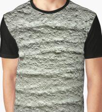 Gray, rough, wavy surface Graphic T-Shirt
