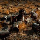 Old Cans of El Indio by Patito49