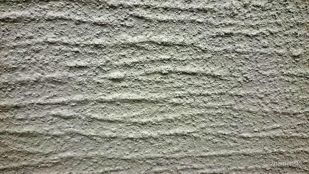 Gray, rough, wavy surface by znamenski