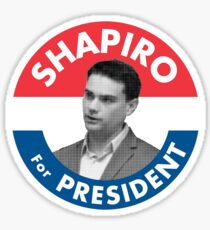 Ben Shapiro Campaign Logo Sticker